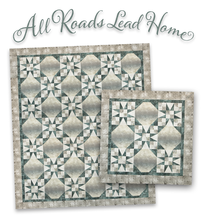 All Roads Lead Home Pattern and Kits