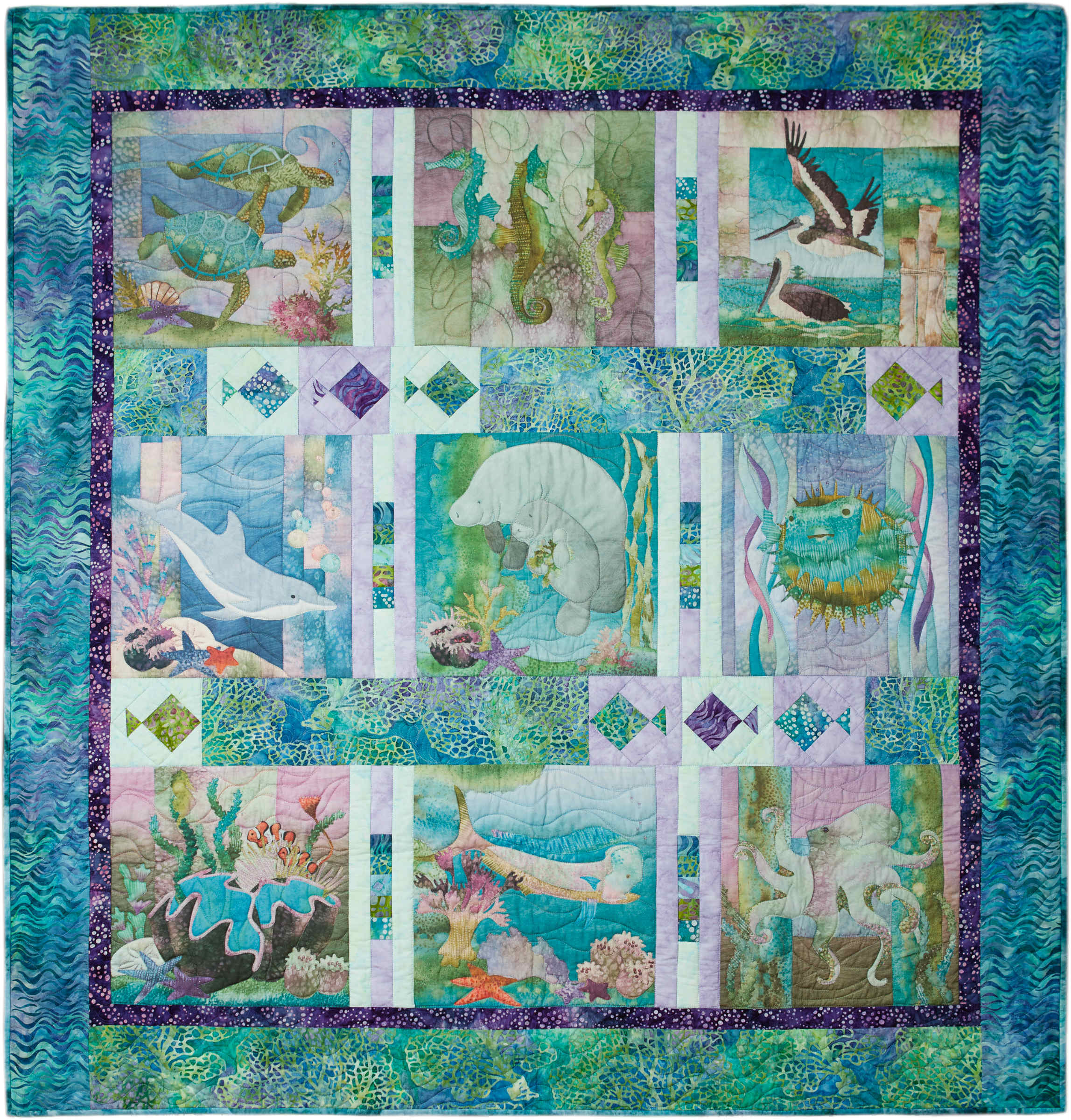 Truly Mckenna Fabric Art Panels Fabric Art Prints And Free Quilt