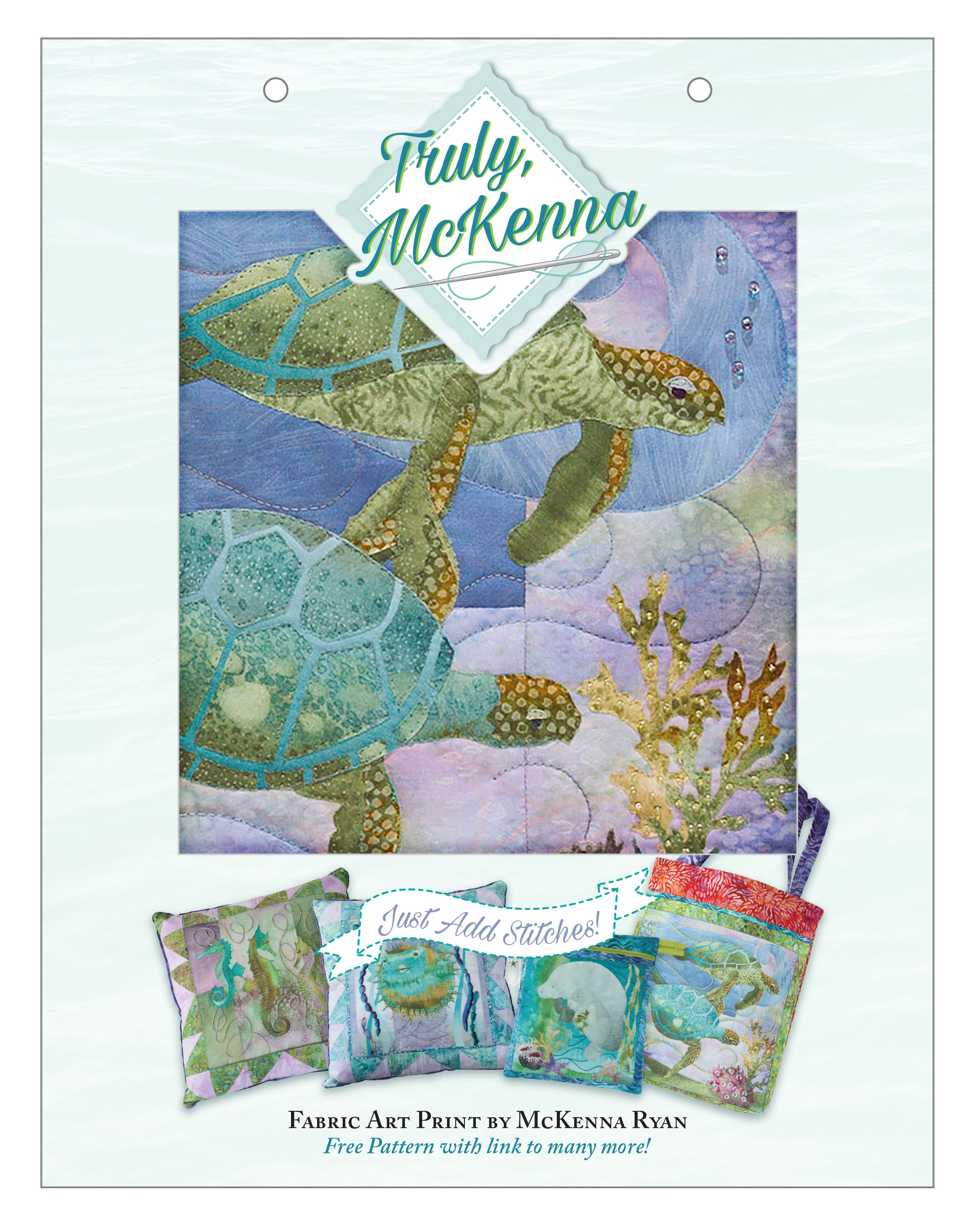 Fabric Art Panels : Truly mckenna fabric art panels prints and