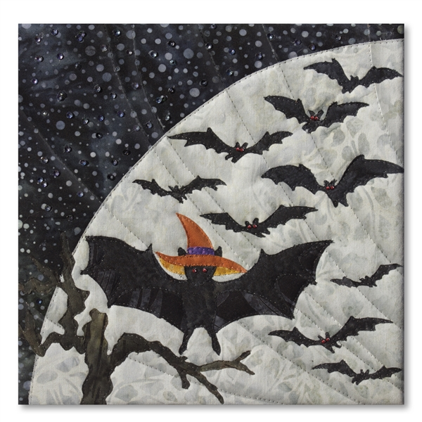 Bat In The Hat Laser Cut Fabric Kit And Full Quilt
