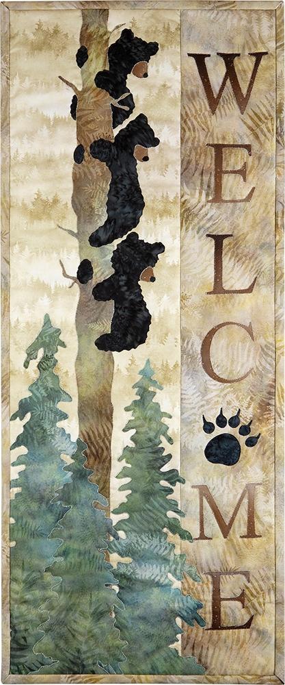Welcome Bear Inn Pattern by McKenna Ryan///